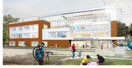 Renderings of the new building