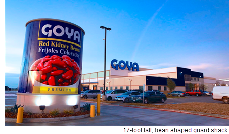 Picture of the Goya facility