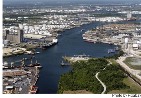 Picture of the Port of Houston