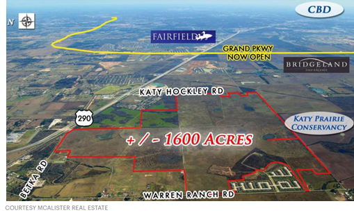 1,619 acres near U.S. 290 and Katy Hockley RD.