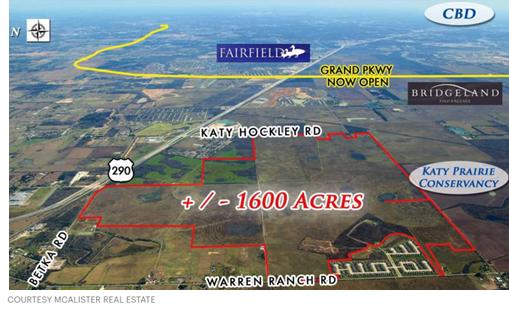 1,619 acres near U.S. 290 and Katy Hockley RD.