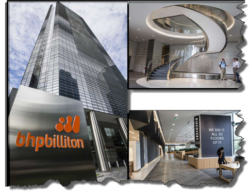 BHP Billition's new Houston HQ