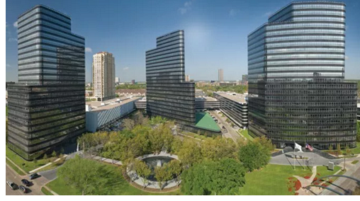 Post Oak Central lease for all 524,000 square feet