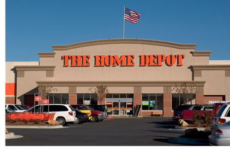 Picture of Home Depot store