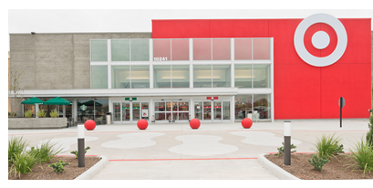 Target's new redesigned storefront in Richmond