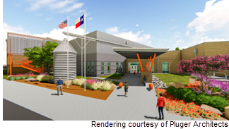 Rendering of elementary school