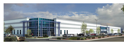 Rendering of new Innovation business park building
