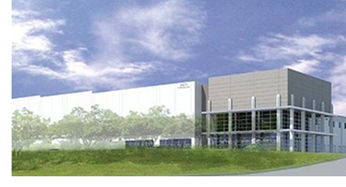 rendering of the DFW Commerce Center