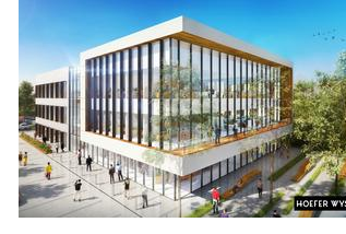 A rendering of phase one of the Irving IT Park