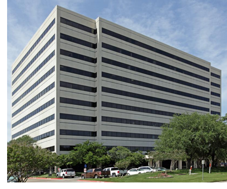 A view of the 10-story Tower 1320 in Irving, Texas.