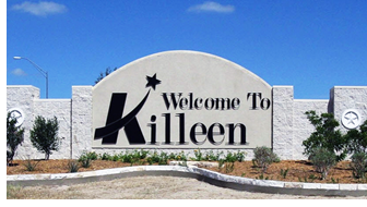 Image of Welcome to Killeen sign
