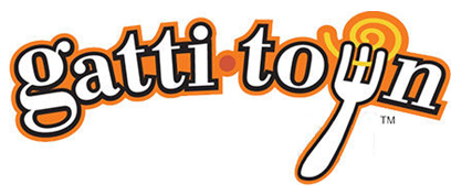 Gattitown pizzeria and entertainment center logo
