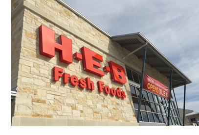 A new H-E-B will anchor Stratus Properties' Kingwood Place development, which is expected to open in October 2019. Pictured is Kingwood's existing H-E-B, which originally opened in October 2016.