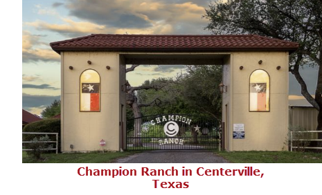 Leon County Champion Ranch in Centerville