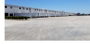 Image of the warehouse in La Porte.