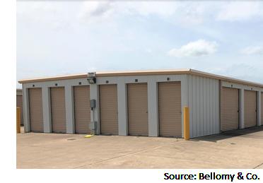 Units at Academy Mini Storage at 706 SH 95