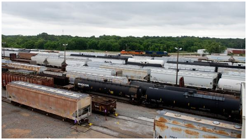 Longview Rail Yard economy