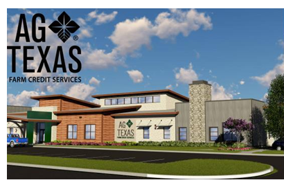 Rendering of the AgTexas Farm Credit headquarters in Lubbock