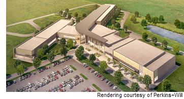Rendering of Manor Senior High School