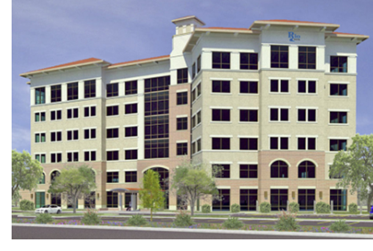 A rendering of the new Rio Bank Headquarters in McAllen, Texas.
