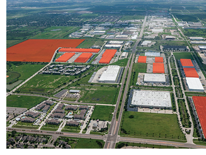 Sharyland Industrial Park was approximately 95 percent leased at the time of sale to tenants including Panasonic.