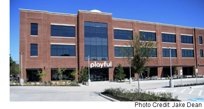 Playful's new headquarters is located in historic downtown McKinney.