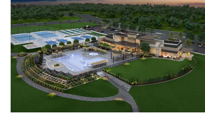 Del Webb's Trinity Falls community will have a 12-acre amenities center. (Trinity Falls)