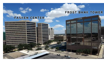 Fasken Center and Frost Bank Tower