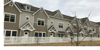 The Maple Ridge Townhomes in Midlothian