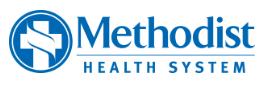 Methodist Health System logo.