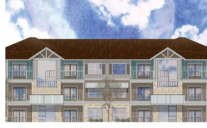 Royal Vista Apartments rendering.