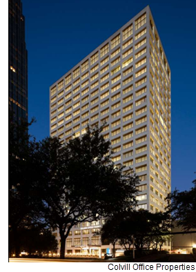 Galleria Office Tower I, a 493,456-square-foot office building at 2700 Post Oak Blvd. in the Galleria, is 85 percent leased. The recently renovated building is owned by Azrieli Group and Unilev Capital Corp. and managed by Unilev Management Corp.