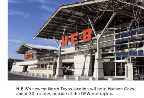 HEB grocer to Parker County