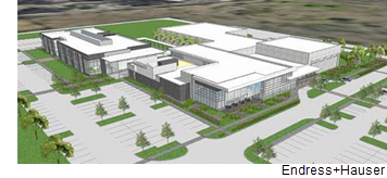 Rendering of the regional center.