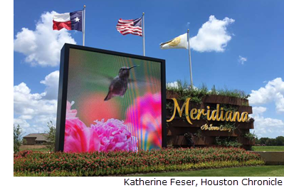 Meridiana is a development of Rise Communities east of Texas 288 at Meridiana Parkway in the Manvel/Iowa Colony area.