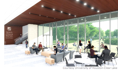 Less than a year from 2018, the University of Houston-Clear Lake (UHCL) Pearland Campus will open its $24.6 million health sciences and classroom building.