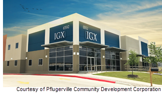 Rendering of ICX flex building