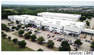 The industrial facility at 600 Shiloh Road