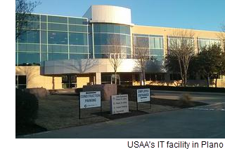 USAA's IT facility in Plano