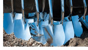 Shiny shovels
