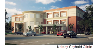 Rendering of the new clinic.
