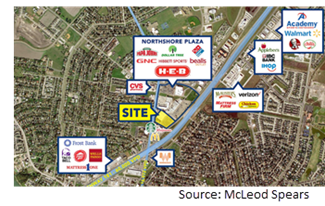 Site map.