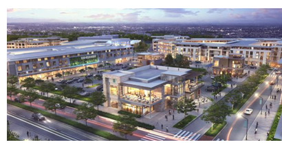 Rendering of The District in Round Rock