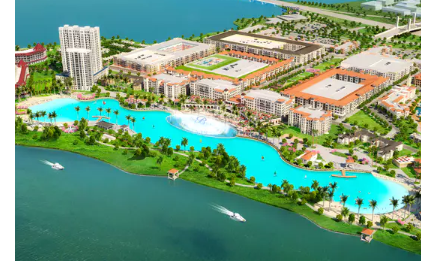 Rendering of Bayside project