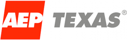The AEP Texas logo.