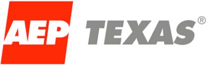 The AEP Texas logo.