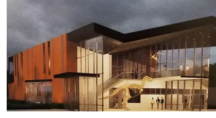 Artists' rendering of the new Angelo State University Museum.