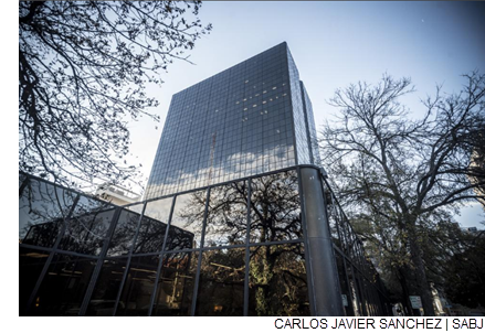 Pending City Council approval of a municipal incentives package, USAA plans to move as many as 2,000 workers to its downtown office towers, including One Riverwalk Plaza.