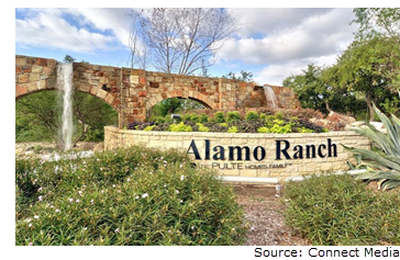 $30.7M loan received for 22 acres on the south side of Alamo Ranch Parkway