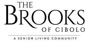 The Brooks of Cibolo logo.